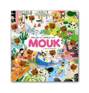 Image of 'Around the World with Mouk' written and illustrated by Marc Boutavant