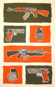 Image of Guns & Grenades by Clay Fergusen (Jamungo)