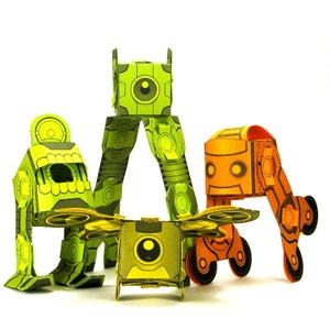 Image of Super Combiners Series 1 - Digital File