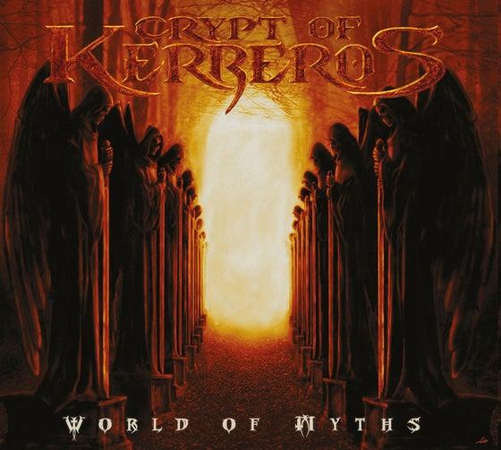 "Image of CRYPT OF KERBEROS ""World Of Myths"" Digipak CD"