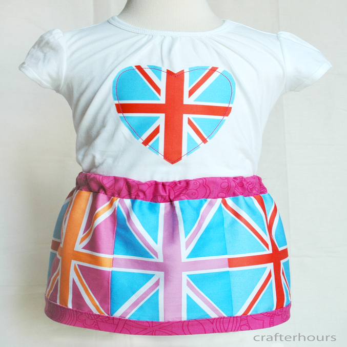 Image of Union Jack Cuts - Bundles of 9