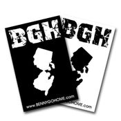 Image of BGH Jersey Sticker