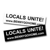 Image of Locals Unite Sticker