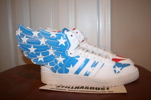 "Image of Adidas x Jeremy Scott Wings 2.0 ""American Flag"""