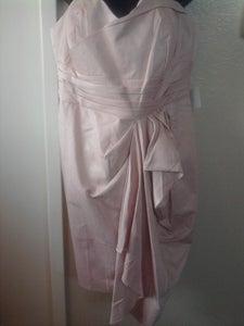 Image of Asos Curve Pink Ruffle nnnBottom Dress sz 20 US UK24