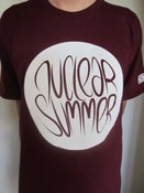Image of Nuclear Summer logo t-shirt