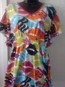 Image of Rocawear Neon Lips & Rhinestones Top Sz XL