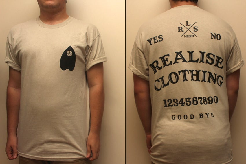 Image of Ouija Board T Shirt.