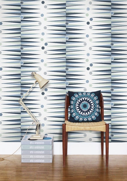 Image of Backgammon Wallpaper - Chalkhill Blue