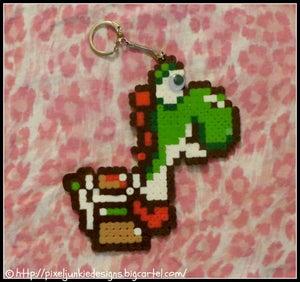 Image of Yoshi Key Chain