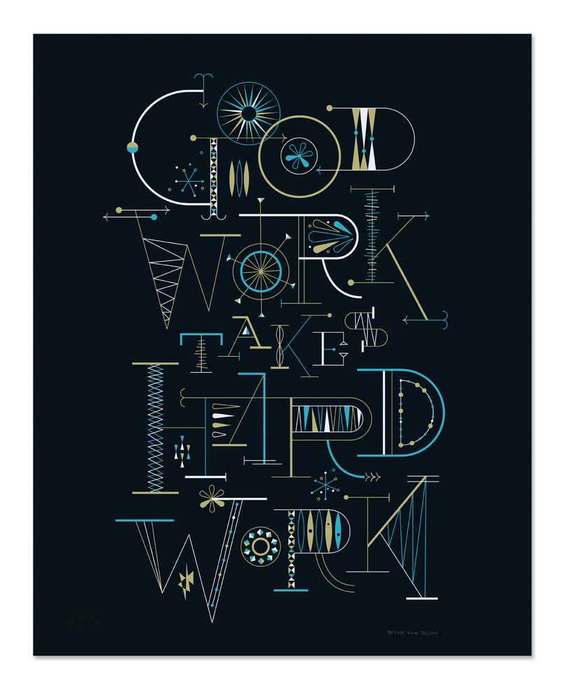 Image of Good Work Takes by Brent Couchman