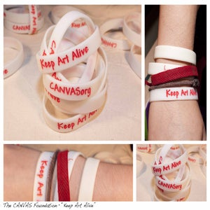 Image of Keep Art Alive wristband
