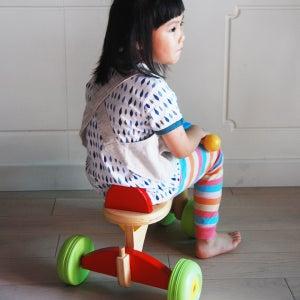 Image of Cotton-linen Reversible Apron (kids)  /小童棉麻兩面穿圍裙 (code: 063)