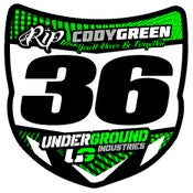 Image of Cody Green Mini Plate (QTY-5)