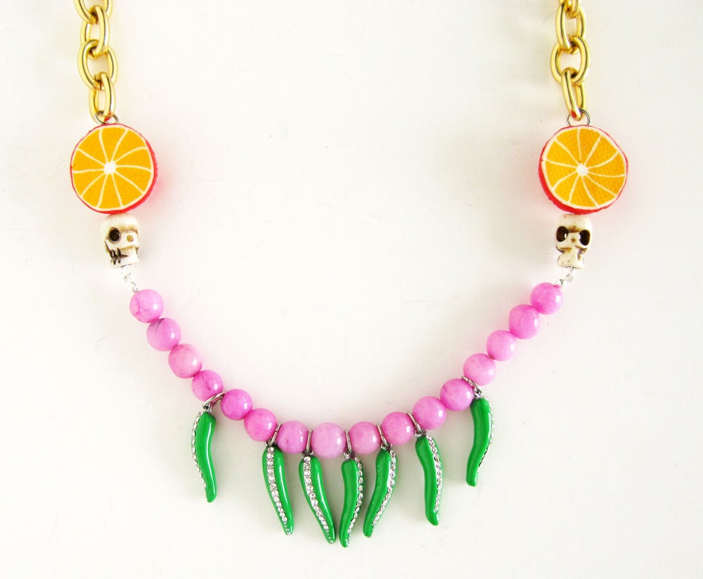 Image of Harvest Chilli Necklace