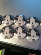 "Image of Lastletters. ""Petals"" Buttons"