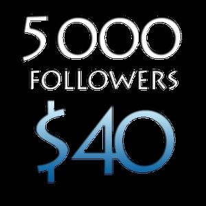 Image of 5000 Worldwide Twitter Followers