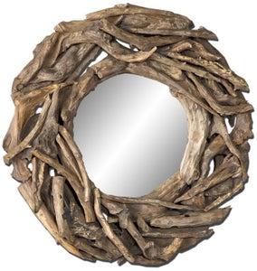 Image of Teak Root Mirror