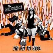 "Image of The Evil Streaks ""Go Go To Hell"" E.P. - 7"" Vinyl"