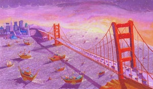 Image of Example Print 'The Golden Gate Bridge - San Francisco'