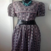 Image of Vintage Floral Sailor Dress