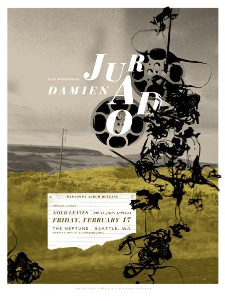Image of Damien Jurado Album Release Poster