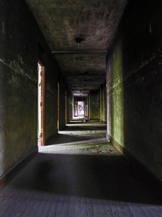 Image of Norwich State Hospital Hallway
