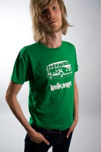 Image of Ecologic t-shirt (green), Hellsongs bully