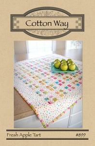 Image of Fresh Apple Tart - Paper Pattern #899