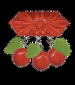 Image of Cherry brooch