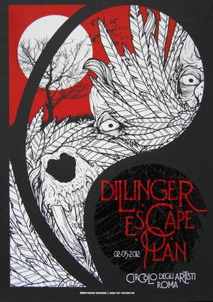 Image of DILLINGER ESCAPE PLAN - Live in ROMA