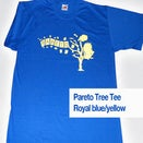 Image of Pareto - Tee - Blue and Yellow