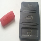 Image of Square Key FOB Buttons + Panic Button