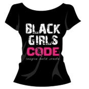 Image of Black Girls Code T-shirt: Design 1