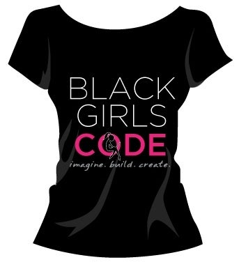 Image of Black Girls Code Tshirt: Design 2