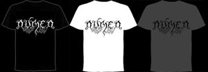 Image of NEW!!!!!!! Numen logo T-shirt (Black/White/Grey)