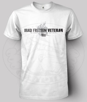 Image of IRAQI FREEDOM VETERAN T-Shirt