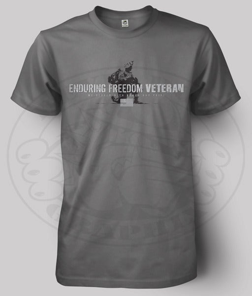 Image of ENDURING FREEDOM VETERAN T-Shirt