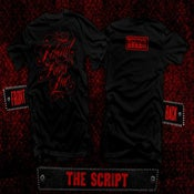Image of BBI Script T w/red print