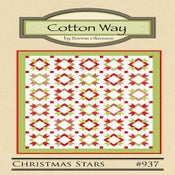 Image of Christmas Stars - PDF Pattern #937