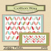 Image of Ziggy Petals - Paper Pattern #941