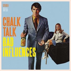 "Image of Chalk Talk- Bad Influences 12"" Vinyl/CD"