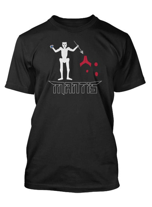 Image of ON SALE !!! Mantis - Blackbeard flag shirt