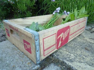 Image of Vintage '7 Up' Crates