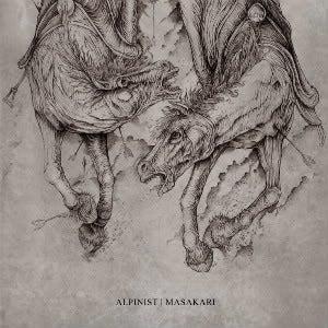 Image of Alpinist / Masakari - Split LP (Halo Of Flies)