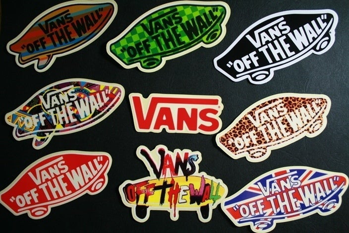 how to get vans stickers