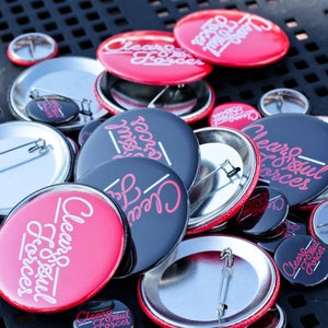 Image of Clear Soul Forces Logo Pins