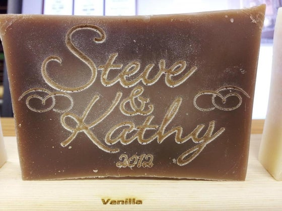 Image of Personalized Handmade Soap - Couple