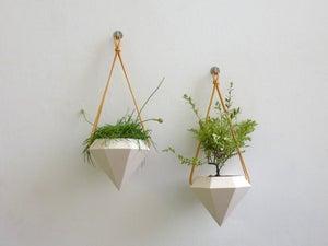 Image of Diamond Hanging Planter - Pair