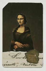 Image of Metro Card collage Mona